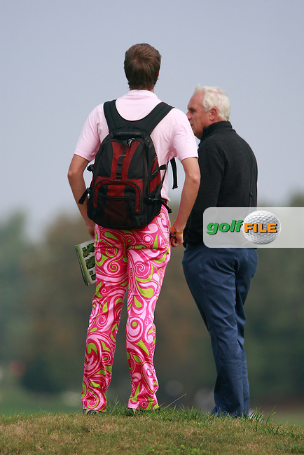 John Daly fans follow his match during Thursday's Round 1 of the Austrian Open presented by Lyoness at the Diamond Country Club, Atzenbrugg, Austria, 22nd September 2011 (Photo Eoin Clarke/www.golffile.ie)