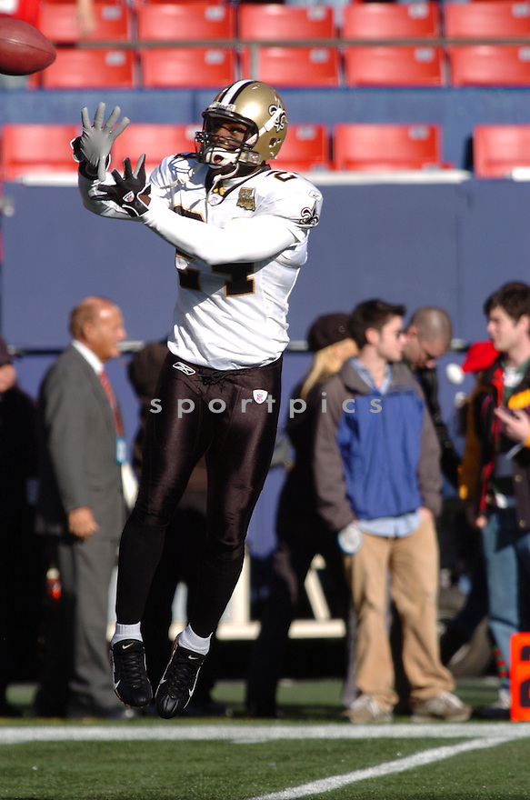 BRYAN SCOTT, of the New Orleans Saints during their game against the New York Giants on December 24, 2006 in NJ...Saints win 30-7..Tomasso DeRosa / SportPics