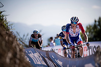 Kilian Frankiny (SUI/Groupama - FDJ) in the race finale<br /> <br /> Stage 15: Tineo to Santuario del Acebo (154km)<br /> La Vuelta 2019<br /> <br /> ©kramon