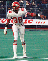 Ray Alexander Calgary Stampeders 1986. Photo F. Scott Grant