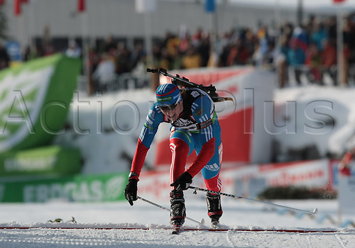 09/12/2011, Hochfilzen, Austria. MALYSHKO Dmitry (RUS) in action during the sprint race of the Biathlon World Cup. Men's Sprint race.
