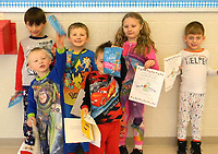 PHOTO SUBMITTED December's Bookworm Award Winners from Pineville Primary School. Congratulations students.