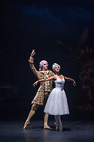 The Nutcracker and the Four Realms (2018)<br /> Misty Copeland as the Ballerina Princess and Sergei Polunin as Dancer Cavalier<br /> *Filmstill - Editorial Use Only*<br /> CAP/MFS<br /> Image supplied by Capital Pictures