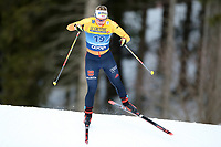 31st December 2019; Dobbiaco, Toblach, South Tyrol, Italy;  FIS Tour de Ski - Cross Country Ski World Cup 2019  in Dobbiaco, Toblach, on December 31, 2019; Antonia Fraebel of germany in the Womens individual 10km