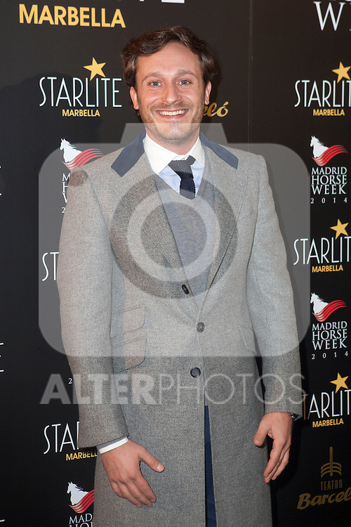 Spanish singer Juan Pena attends Starlite 2015 presentation party at the Barcelo Theater on November 26, 2014 in Madrid, Spain.(ALTERPHOTOS / Nacho Lopez)