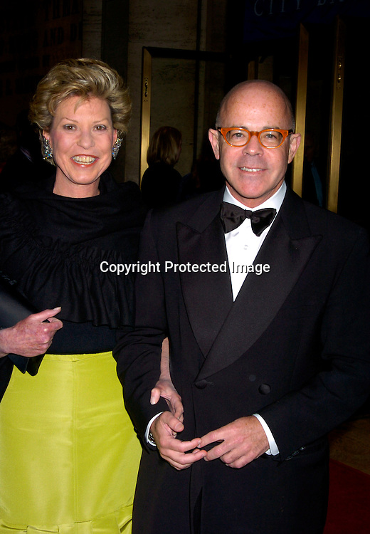 Louise Grunwald and Billy Norwich ..at the New York City Ballet 2004 Spring Gala on             May 5, 2004 at The New York State Theatre.                       Photo by Robin Platzer, Twin Images