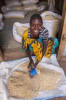 Boroli, MBB women selling corn