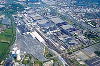 4415/VW Werk :EUROPA, DEUTSCHLAND, NIEDERSACHSEN, WOLFSBURG, 27.05.2005: VW Werk Wolfsburg, Industrie, Standort Deutschland, Produktion, Auto, Fahrzeuge, Luftbild, Luftansicht