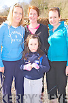Pictured at the Kerry Together fun walk in aid of Kerry Life Education in Killarney on Sunday were Edel Breen, Joanne and Emma Hamilton and Marian O'Sullivan, Killarney.