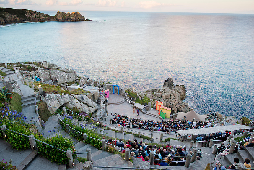 The Minack Theatre. Porthcurno, Cornwall, England