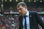 West Ham manager, Slaven Bilic during the Emirates FA Cup match at Old Trafford. Photo credit should read: Philip Oldham/Sportimage