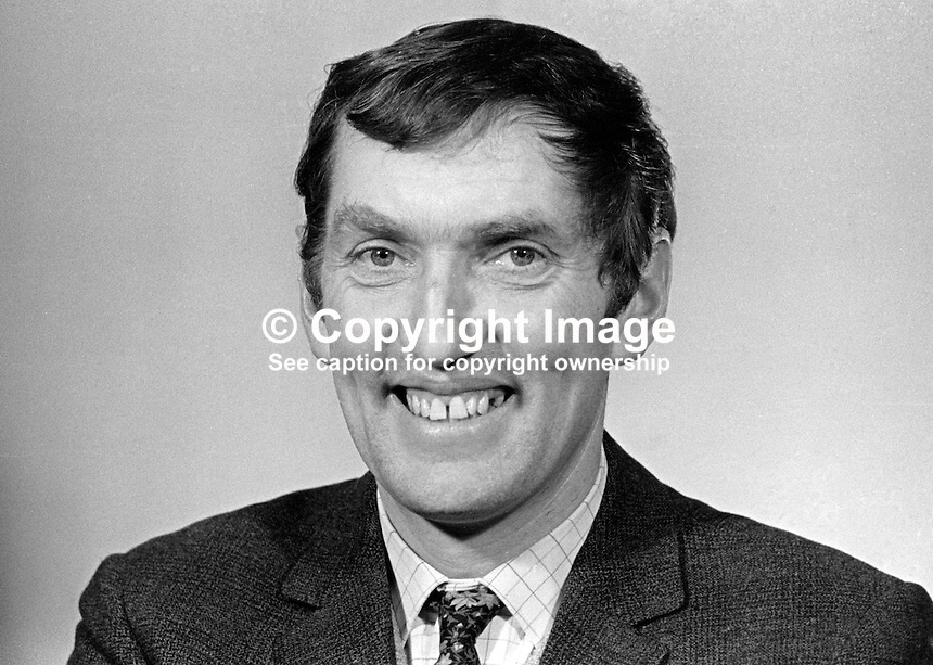 Brian Boyd, architect, Belfast, N Ireland, NILP, Northern Ireland Labour Party, candidate, Willowfield constituency, general election, N Ireland Parliament, February, 1969, 196902000069<br />