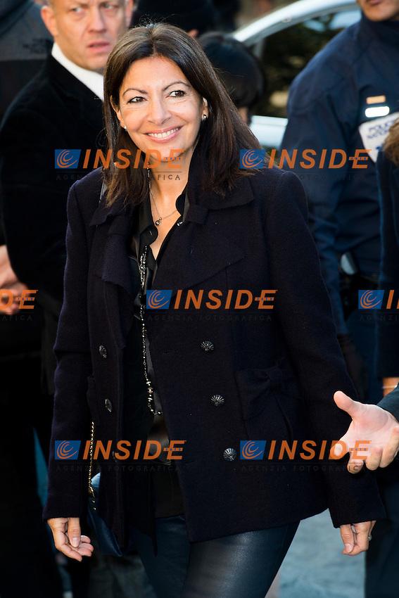 Anne Hidalgo - maire de Paris Chanel s fashion show arrivals - Paris - 04/10/2016 <br /> Foto Panoramic / Insidefoto
