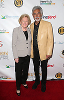 BURBANK, CA - SEPTEMBER 8: Barbara Marshall, Joe Mantegna, At 11th Annual Burbank International Film Festival Closing Night at Los Angeles Marriott Burbank Airport  in Burbank, California on September 8, 2019. <br /> CAP/MPIFS<br /> ©MPIFS/Capital Pictures