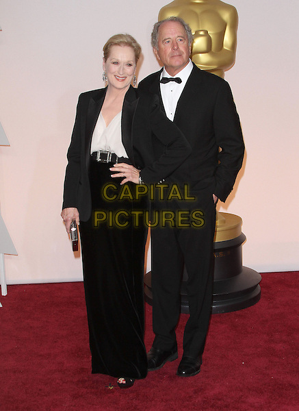 22 February 2015 - Hollywood, California - Meryl Streep, Don Gummer. 87th Annual Academy Awards presented by the Academy of Motion Picture Arts and Sciences held at the Dolby Theatre. <br /> CAP/ADM<br /> &copy;AdMedia/Capital Pictures Oscars