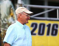Jul 24, 2016; Morrison, CO, USA; NHRA driver Al Corda during the Mile High Nationals at Bandimere Speedway. Mandatory Credit: Mark J. Rebilas-USA TODAY Sports