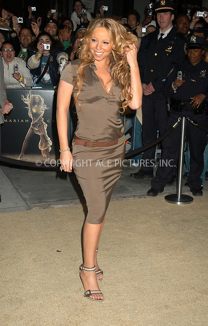 WWW.ACEPIXS.COM . . . . . ....NEW YORK, APRIL 12, 2005....Mariah Carey promotes her latest album 'The Emancipation of Mimi' at the Noho Best Buy.....Please byline: KRISTIN CALLAHAN - ACE PICTURES.. . . . . . ..Ace Pictures, Inc:  ..Craig Ashby (212) 243-8787..e-mail: picturedesk@acepixs.com..web: http://www.acepixs.com