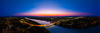 Lake Marble Falls is located at the booming town of Marble Falls about 45 miles northwest of Austin. Lake Marble Falls is the 4th lake in the Highland Lakes string of lakes on the Colorado River in the central Texas Hill Country.  Lake Marble Falls is a constant level lake and is popular for boating, and waterskiing.  It is almost 6 miles long and over 1,000 feet wide in the widest area.