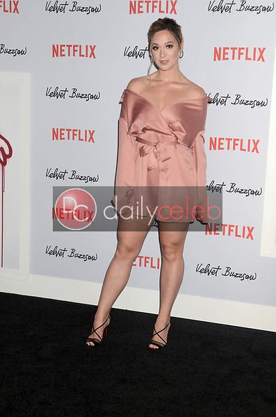 "Alisha Marie<br /> at the ""Velvet Buzzsaw"" Los Angeles Premiere Screening, Egyptian Theater, Hollywood, CA 01-28-19<br /> David Edwards/DailyCeleb.com 818-249-4998"