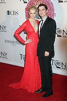 Beth Behrs and Matt Doyle at the 66th Annual Tony Awards at The Beacon Theatre on June 10, 2012 in New York City. Credit: RW/MediaPunch Inc.