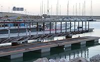 Guias del embarcadero del Luna Rossa -  - LLEGADA DEL CHALLENGE LUNA ROSSA AL R.C.N.V. (Copa LOUIS VUITTON / Copa del América) - 2004 mar 30