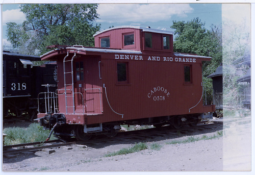Short caboose #0578 at Colorado Railroad Museum.  Sold 05-1952 to the Rocky Mountain Railroad Club.<br /> D&amp;RGW  Colorad Railroad Museum, Golden, CO
