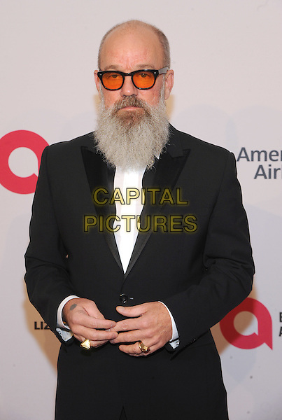 NEW YORK, NY - NOVEMBER 02:  Michael Stipe attends 15th Annual Elton John AIDS Foundation An Enduring Vision Benefit at Cipriani Wall Street on November 2, 2016 in New York City.<br /> CAP/MPI/JP<br /> &copy;JP/MPI/Capital Pictures