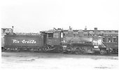 Engineer's-side view of D&amp;RGW #315 in yard.<br /> D&amp;RGW
