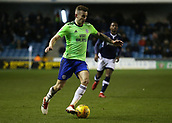 9th February 2018, The Den, London, England; EFL Championship football, Millwall versus Cardiff City; Joe Ralls of Cardiff City on the ball