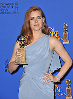 Amy Adams at the 72nd Annual Golden Globe Awards at the Beverly Hilton Hotel, Beverly Hills.<br /> January 11, 2015  Beverly Hills, CA<br /> Picture: Paul Smith / Featureflash