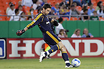 Sep 27 2007:  Joe Cannon (1) goalie for the Galaxy.  The MLS Kansas City Wizards were defeated by the visiting Los Angeles Galaxy 1-0 at Arrowhead Stadium in Kansas City, Missouri, in a regular season league soccer match.