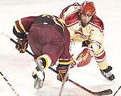 Greg Rallo, Gabe Gauthier - The Ferris State Bulldogs defeated the University of Denver Pioneers 3-2 in the Denver Cup consolation game on Saturday, December 31, 2005, at Magness Arena in Denver, Colorado.
