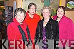Pictured at the Beaufort Active Retired Christmas party in Kate Kearneys Cottage, Beaufort on Sunday were Annemarie Jordan, Gisela Gloge, Barbara Jordan and Valerie Kordt.