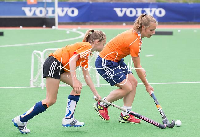 HILVERSUM - Hockey - Charlotte Adegeest. VOLVO JONG ORANJE WORKSHOPS . COPYRIGHT KOEN SUYK
