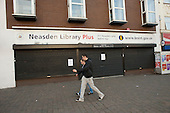 Neasden Library, one of six Brent libraries closed following a failed campaign by local residents.