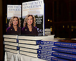 CORAL GABLES, FL - OCTOBER 20: General view of book on display during Congresswoman Debbie Wasserman Schultz speaking and signing copy of her book 'For the Next Generation: A Wake-Up Call to Solving Our Nation's Problems' at Coral Gables Congregational Church hosted by Books & Books on October 20, 2013 in Coral Gables, Florida. (Photo by Johnny Louis/jlnphotography.com)