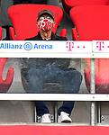 23.05.2020, Allianz Arena, München, GER, 1.FBL, FC Bayern München vs Eintracht Frankfurt 23.05.2020 , <br /><br />Nur für journalistische Zwecke!<br /><br />Gemäß den Vorgaben der DFL Deutsche Fußball Liga ist es untersagt, in dem Stadion und/oder vom Spiel angefertigte Fotoaufnahmen in Form von Sequenzbildern und/oder videoähnlichen Fotostrecken zu verwerten bzw. verwerten zu lassen. <br /><br />Only for editorial use! <br /><br />DFL regulations prohibit any use of photographs as image sequences and/or quasi-video..<br />im Bild<br />Franz BECKENBAUER ( ex FCB President, captain of honor FCB) mit Mundschutz auf der Tribüne <br /> Foto: Peter Schatz/Pool/Bratic/nordphoto