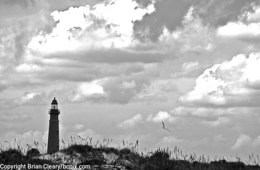 Clouds above the lighthouse in Ponce Inlet, FL, August 23, 2009.  (Photo by Brian Cleary/www.bcpix.com)
