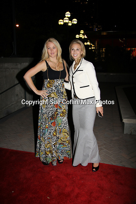 One Life To Live's Bree Williamson & The View's Elisabeth Hasselbeck attend ABC Daytime Soap Casino Night with the Stars on October 28, 2010 at Guastavinos, New York City, New York. (Photo by Sue Coflin/Max Photos)