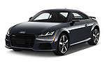 2019 Audi TT-Coupe Base 2 Door Coupe angular front stock photos of front three quarter view