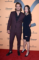 "LOS ANGELES, CA - MAY 30: Luke Grimes, Kelsey Asbille at the premiere party for Paramount Network's ""Yellowstone"" Season 2 at Lombardi House on May 30, 2019 in Los Angeles, California. <br /> CAP/MPI/DE<br /> ©DE//MPI/Capital Pictures"