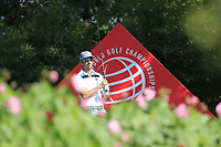 Rafa Cabrera Bello (ESP) on the 2nd tee during the 2nd round of the WGC HSBC Champions, Sheshan Golf Club, Shanghai, China. 01/11/2019.<br /> Picture Fran Caffrey / Golffile.ie<br /> <br /> All photo usage must carry mandatory copyright credit (© Golffile   Fran Caffrey)