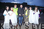 Over 200 people attended the Light Up The Sky Lantern Launch in Memory of those lost by suicide on Reenroe Beach, Ballinskelligs on Friday night last pictured here l-r; Marisa Penagos, Bernadette Casey, Clarissa Bardges(UNMASK), James O'Connell(UNMASK), Helga Ballin(UNMASK), Emma Walsh & Julianne Sugrue.