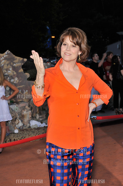"Actress Sigourney Weaver at the world premiere of her new movie Disney Pixar's ""Wall-E"" at the Greek Theatre, Los Angeles..June 21, 2008  Los Angeles, CA.Picture: Paul Smith / Featureflash"