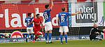 Rostock Deutschland 23.06.2020  Fussball  3.Liga FC Hansa Rostock - 1.FC Kaiserslautern<br /> 0:1 durch Mohamed MORABET (FCK, mi)<br /> <br /> Foto © PIX-Sportfotos *** Foto ist honorarpflichtig! *** Auf Anfrage in hoeherer Qualitaet/Aufloesung. Belegexemplar erbeten. Veroeffentlichung ausschliesslich fuer journalistisch-publizistische Zwecke. For editorial use only. DFL regulations prohibit any use of photographs as image sequences and/or quasi-video.