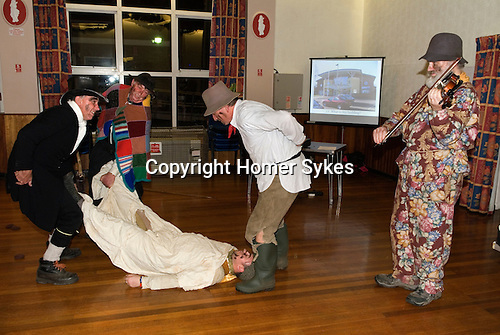 Hooden Horse Christmas Play, Thanet Kent 2014. Birchington Village Centre. Performed to the local history society Christmas party.