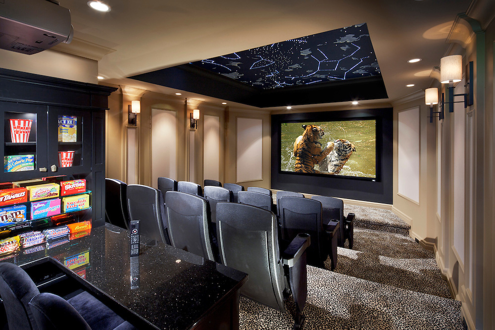 Home Theater with Complete Automation