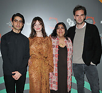 "Viveik Kaira, Dakota Blue Richards, Gurinder Chadha and Tom Bateman at the ""Beecham House"" BFI & Radio Times Television Festival screening & Q&A, BFI Southbank, Belvedere Road, London, England, UK, on Saturday 13th April 2019. <br /> CAP/CAN<br /> ©CAN/Capital Pictures"