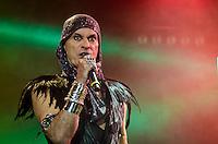 SÃO PAULO,SP, 03.02.2017 - SHOW-SP - O cantor Ney Matogrosso apresenta show da turnê Atento aos Sinais no Espaço das Américasl, em São Paulo, na noite desta sexta-feira, 03. (Foto: Bete Marques/Brazil Photo Press)