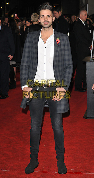 Ben Haenow attends the , Odeon Leicester Square, Leicester Square, London, England, UK, on Thursday 05 November 2015. <br /> CAP/CAN<br /> &copy;CAN/Capital Pictures